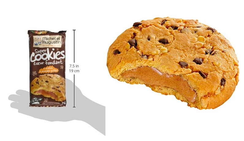 Zoom_produit Cookies coeur fondant_Michel_Augustin