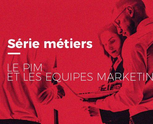 Equipes marketing utilisant un PIM