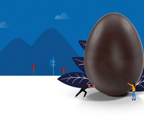 Afineo PIM oeuf en chocolat