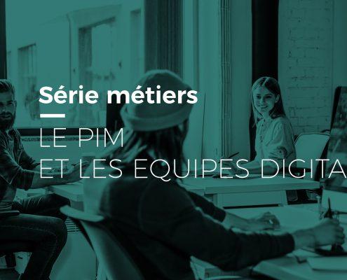 Equipes marketing digital dans open space, collaborent grâce au PIM Afineo