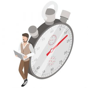 Optimisation du Time-to-market Afineo PIM illustration chrono