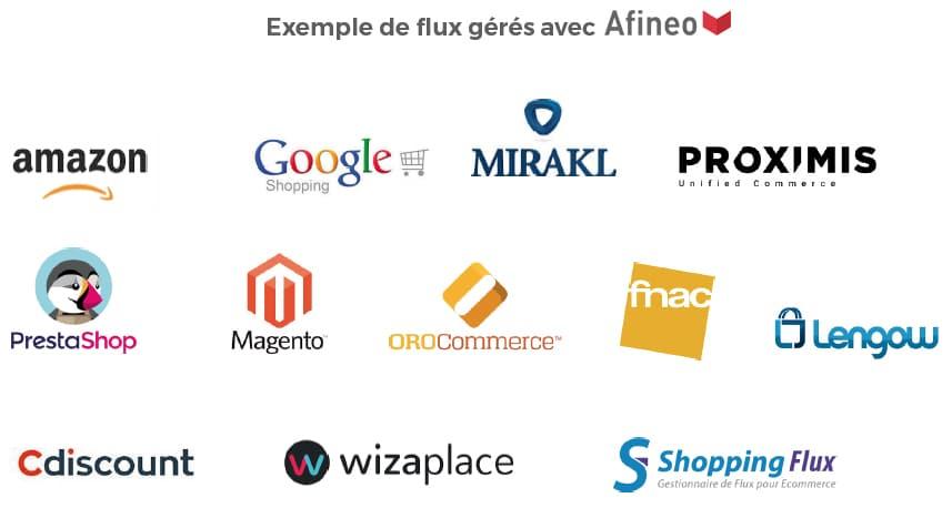 Flux e-commerce, marketplace, magento, wizaplace, mirakl