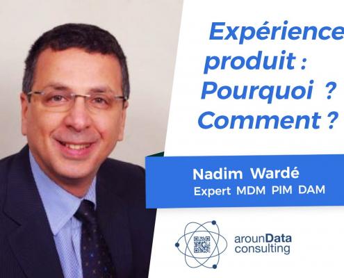 Nadim Warlé, société aroundata, un consultant expert PIM DAM et MDM