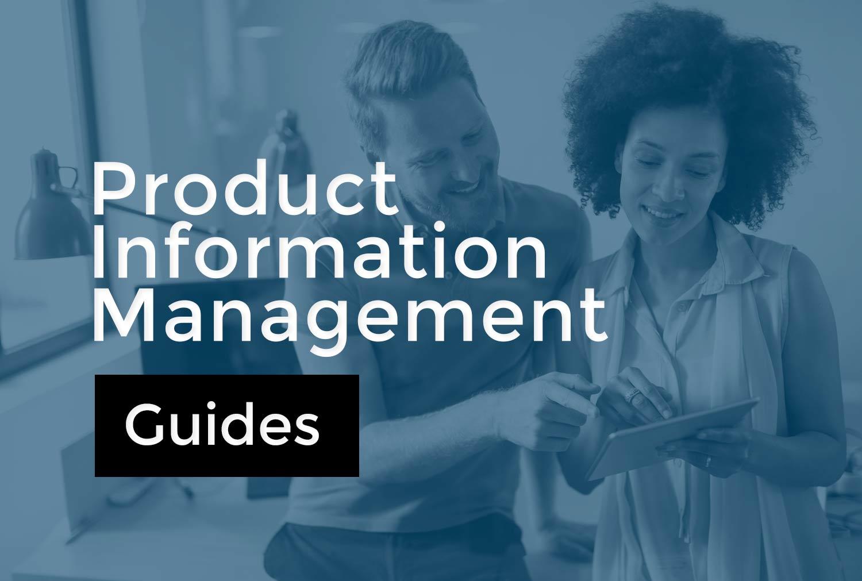 Guides sur le PIM (Product Information Management)