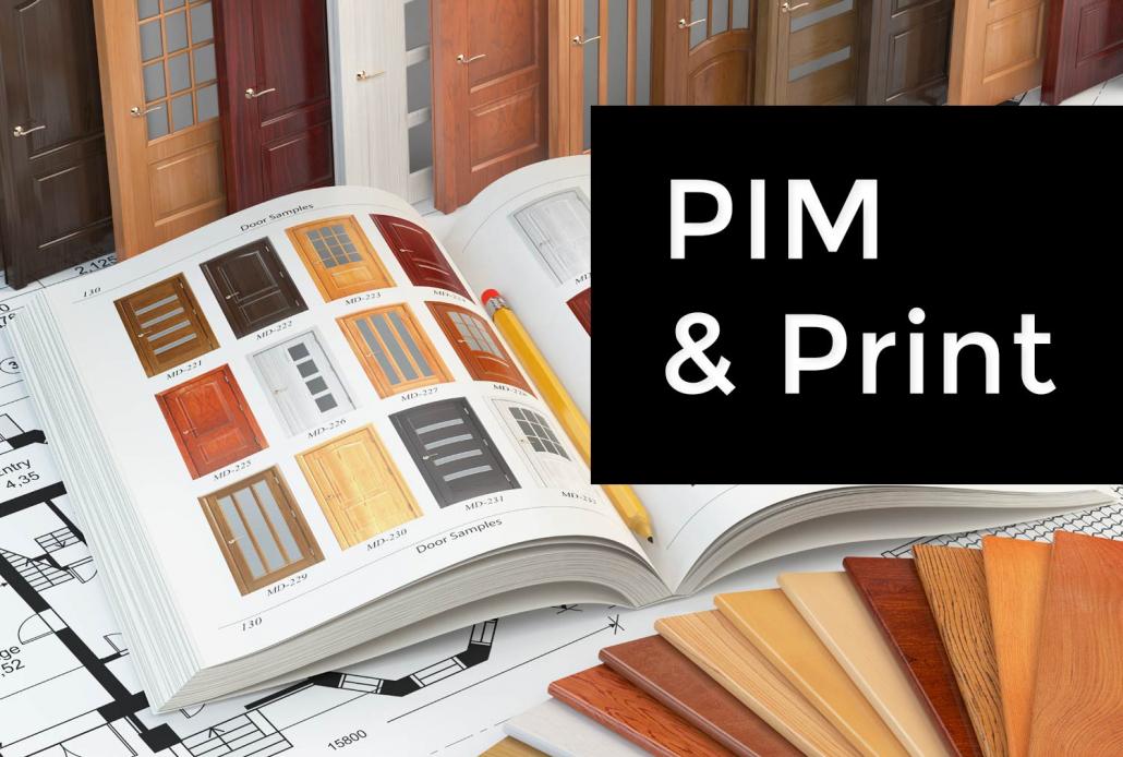 Une solution Pim pour le print : diffusion de catalogues papier rapide