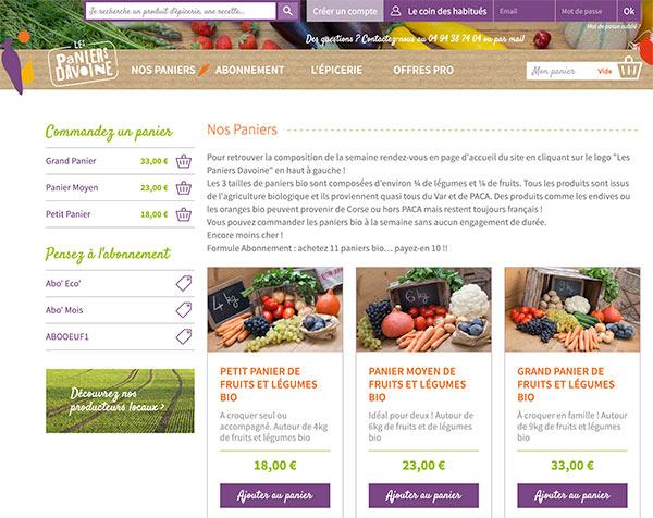 Une démarche éco friendly : la livraison fruits de saison