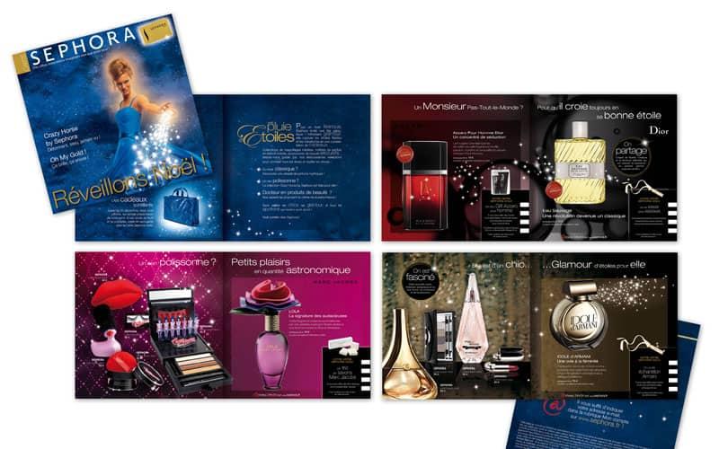 Création de catalogue produits haut de gamme : exemple