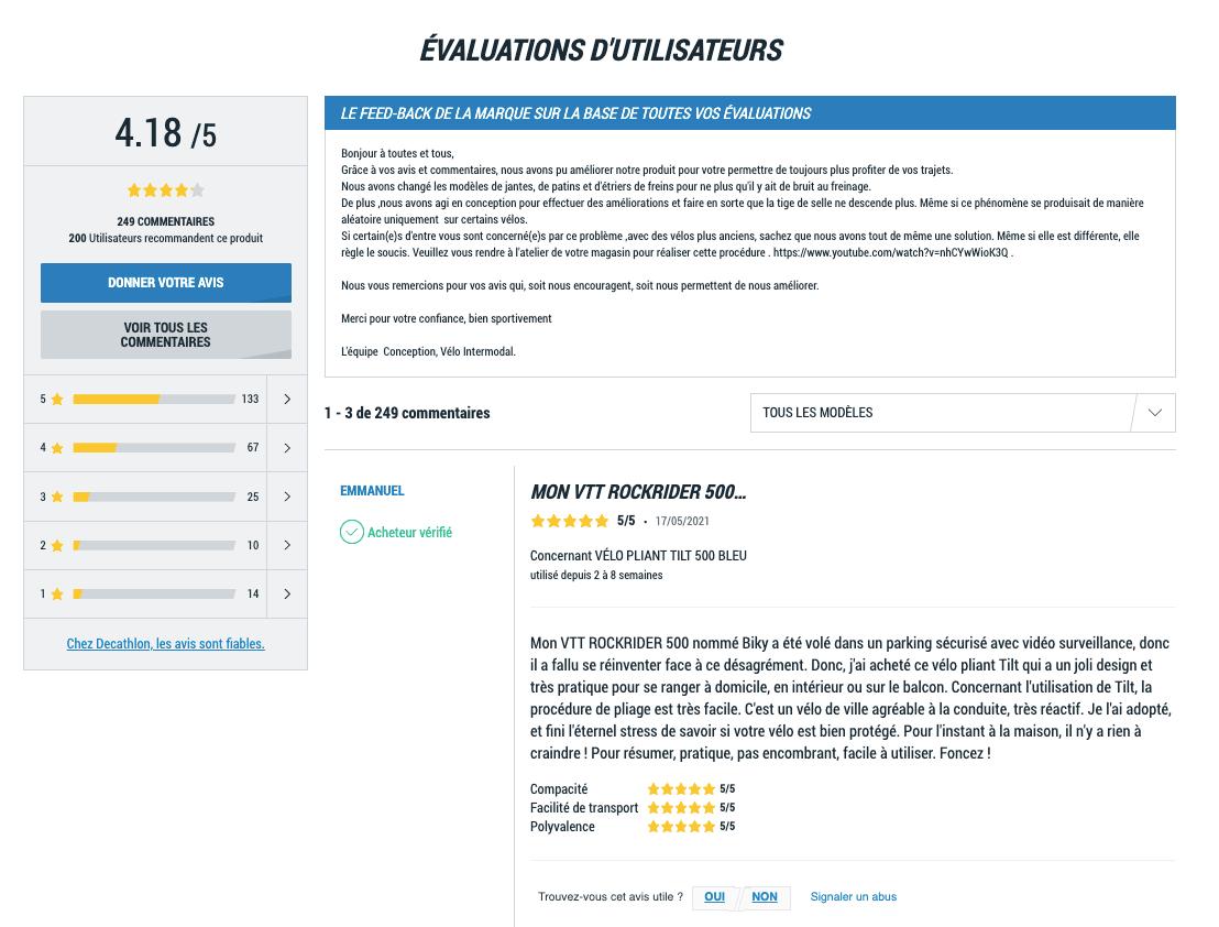 site vente retour e-commerce