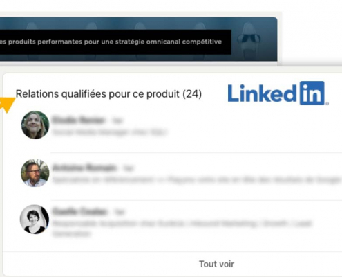 Tutoriel pour évaluer le logiciel PIM Afineo sur LinkedIn